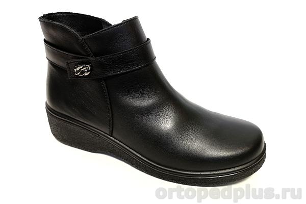Комфортная обувь Полусапожки женские 6201-2 черный
