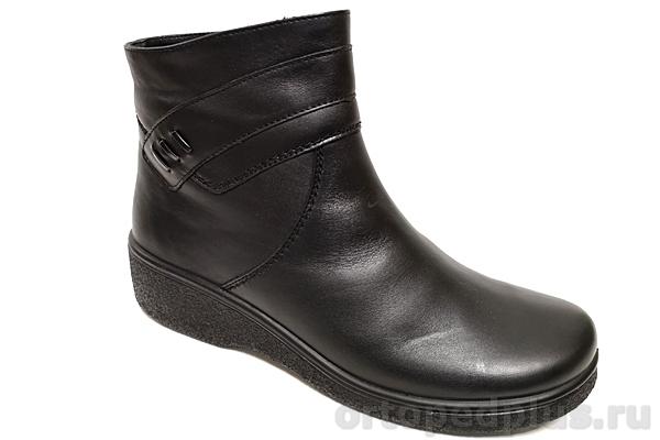 Комфортная обувь Полусапожки женские зимние 632 черный