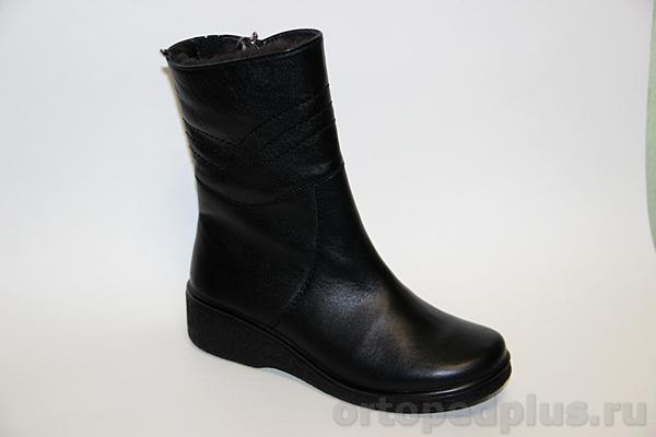 Комфортная обувь Ботинки жен. 635 черный