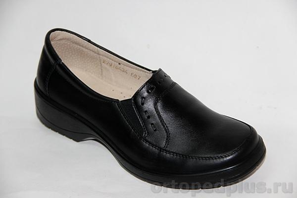Комфортная обувь Ботинки жен. 687 черный