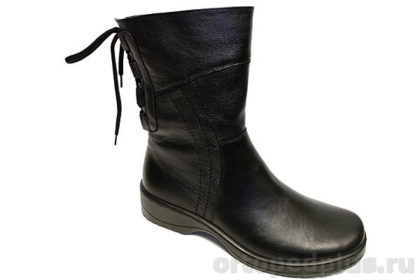 Комфортная обувь Сапоги женские 697-2 черные