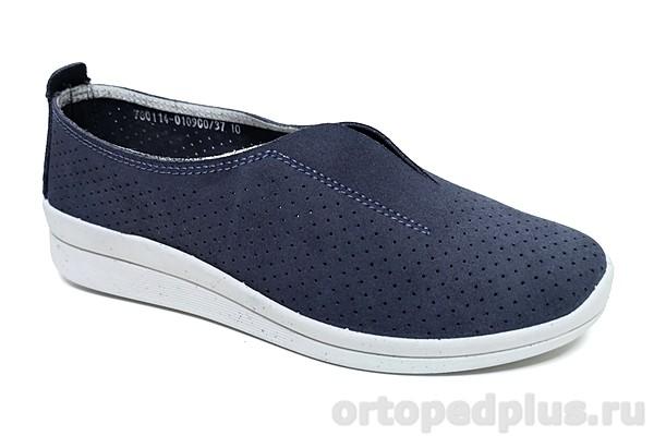 Комфортная обувь Туфли женские 780114-010900 т.синий