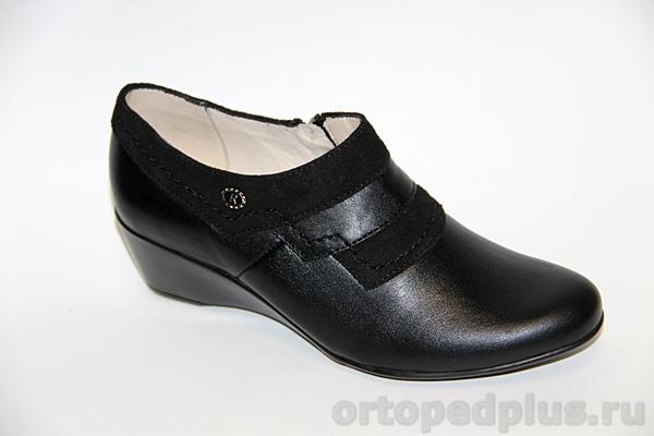 Комфортная обувь Туфли женские 8130 черный