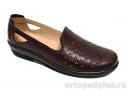 Женские туфли 814648-12 коричневый
