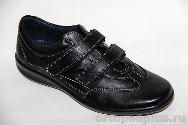 Комфортная обувь П/ботинки мужские 971 черный