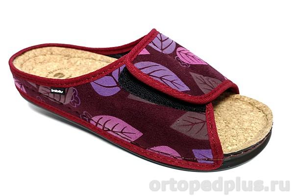 Комфортная обувь Пантолеты женские DH-6Q сливовый