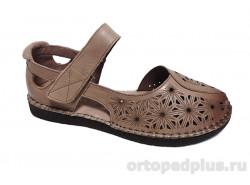 Туфли жен. NK010-012 коричневый