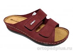 Туфли женские 06-3A Б красный