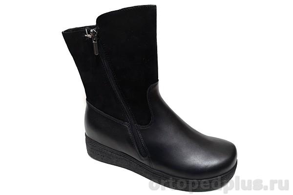 Комфортная обувь Сапоги женские 180503 черный
