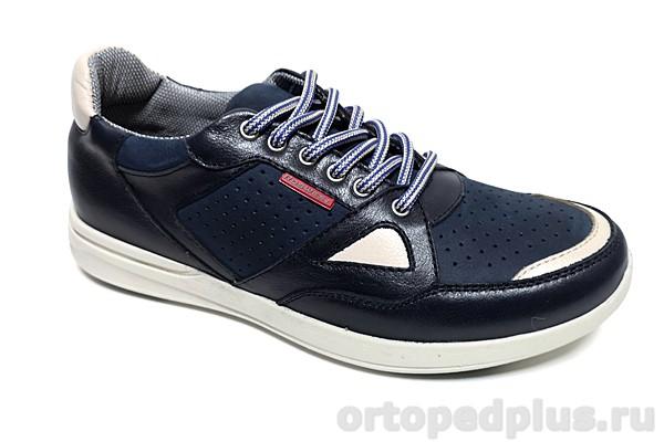 Комфортная обувь П/ботинки мужские 4153 синий