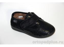 Туфли текстильные 6013 S28/T44 черный