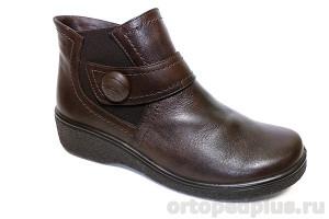 П/ботинки жен. 636-2 коричневый