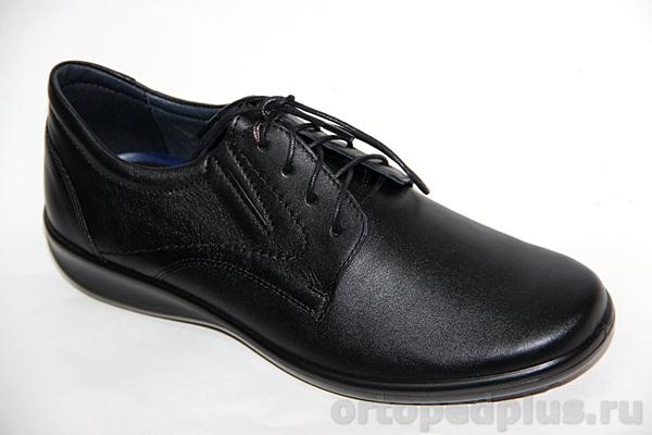 Комфортная обувь П/ботинки мужские 976 черный