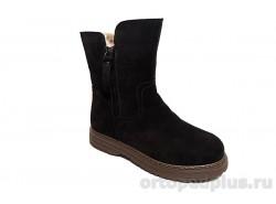 Ботинки женские RJ067-021 коричневый