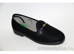 Туфли текстильные 179_1380I_001 черный