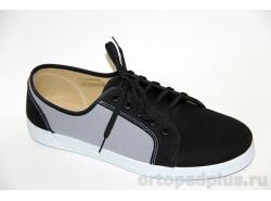 П/ботинки мужские 179_DC4457X10_014 черный/серый