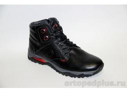 Ботинки мужские мех 3012 М-2 черн. лиц