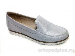 Туфли женские 3221 белый/серебро