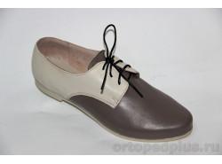Туфли женские 58-074/2 беж-т.беж