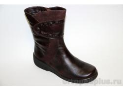 Ботинки женские 631-2 коричневый