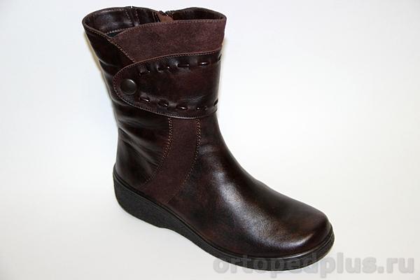 Комфортная обувь Ботинки женские 631-2 коричневый