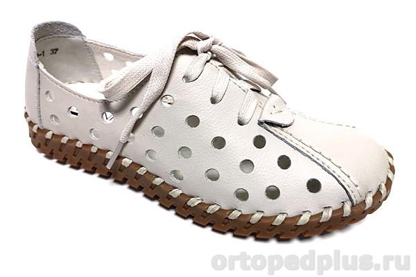 Комфортная обувь Туфли летние 62012-1 бежевый