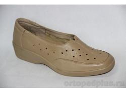 Туфли женские 676-1 бежевый