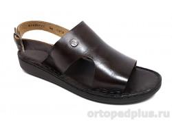 Женские туфли 814351-1 коричневый
