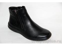 Ботинки мужские 923 черный зимние