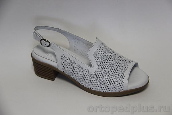 Комфортная обувь Босоножки R6115 белый