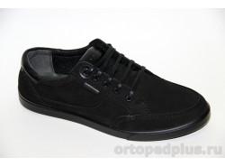 П/ботинки мужские 1002 черный