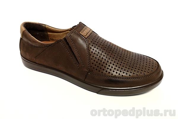 Комфортная обувь Туфли мужские 1011 рыжий