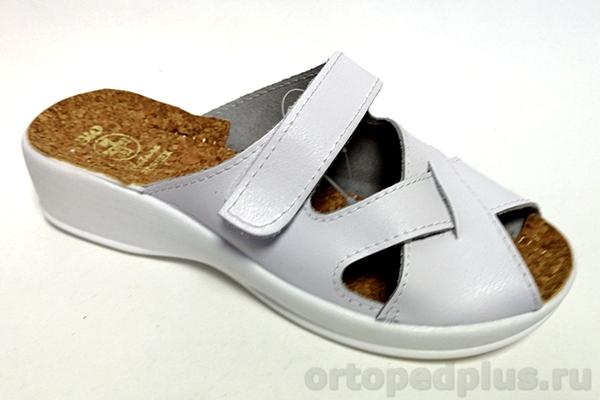 Комфортная обувь Босоножки 14250 белый