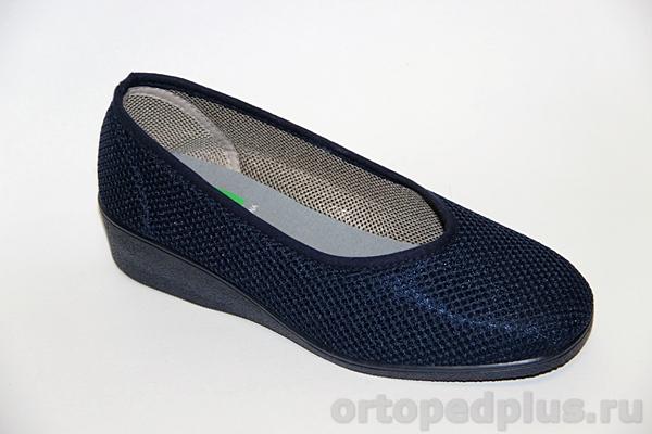 Комфортная обувь Туфли женские 179_S136I10_805 синий