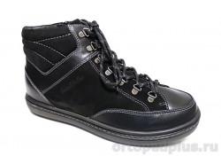 Ботинки 190336 черный