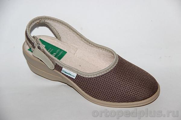 Комфортная обувь Босоножки 273_LANDY_58_304 коричневый