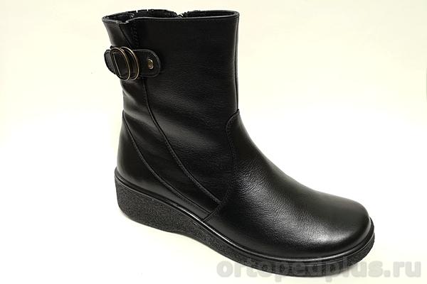 Комфортная обувь Ботинки зимние женские 633 черный