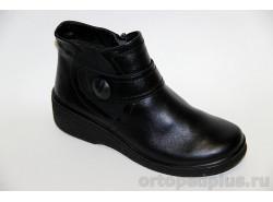 П/ботинки жен. 636 черный