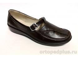 Туфли женские 648 коричневый