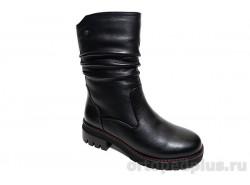 П/сапоги женские U241-010 черный