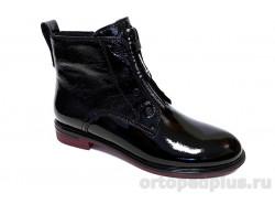 Ботинки женские YZ-10-3-165 черный лак