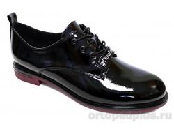 Туфли женские YZ-12-3-139 черный лак