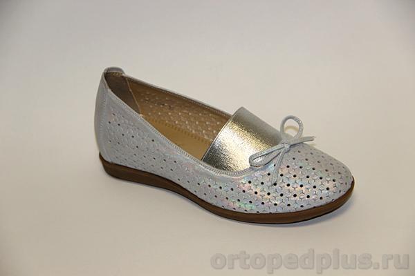 Комфортная обувь Туфли летние женские W20366 серый