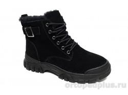 Ботинки женские 1001P-2R-694A черный