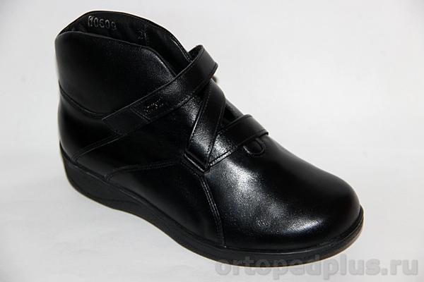 Комфортная обувь Ботинки жен. 106-09 черный