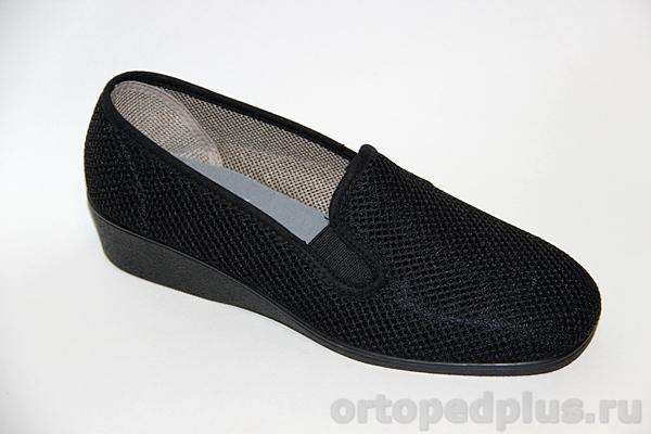 Комфортная обувь Туфли женские 183_11008_001 черный