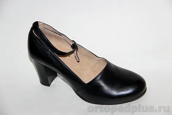 Комфортная обувь Туфли женские 19-090/1 черный