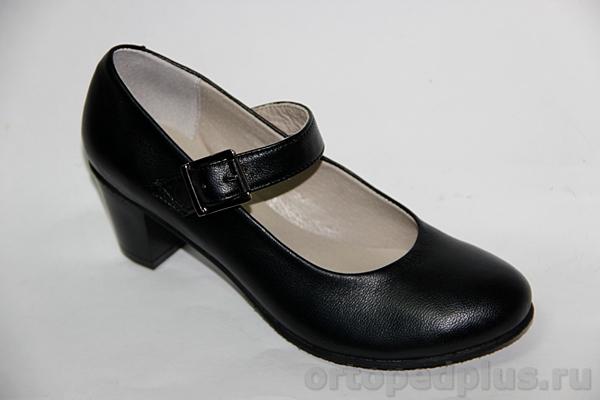 Комфортная обувь Туфли женские 28-057/1черн