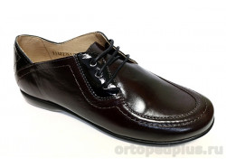 Туфли женские 3084 т. вишня