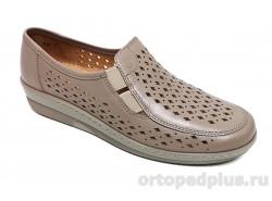 Женские туфли 814640-8 св. коричневый